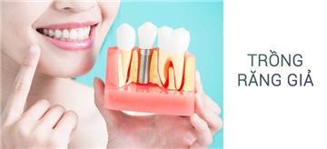 Trồng răng giả do tai nạn lao động có được trả tiền?