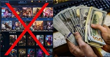 Từ 15/4, đổi vật phẩm game thành tiền, phạt tới 200 triệu đồng