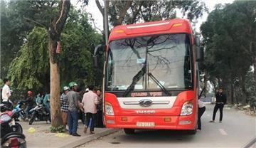 Mỗi xe khách chỉ được dừng đón trả khách không quá 3 phút