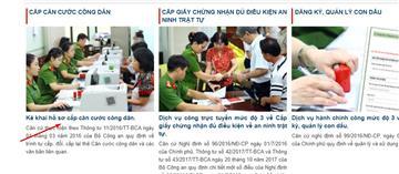 Thủ tục làm Căn cước công dân, CMND online