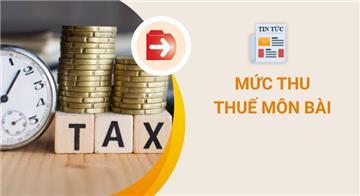 Thuế môn bài 2021: Mức nộp, hạn nộp và trường hợp được miễn