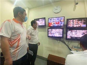 Hà Nội: Giám sát, theo dõi bằng camera trong khu cách ly tập trung