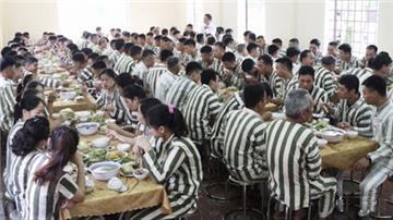 Phạm nhân được hưởng chế độ ăn, ở như thế nào trong trại giam?