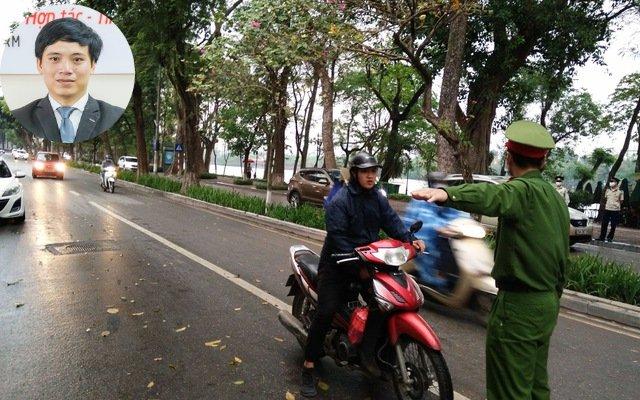 người dân Hà Nội đi ra đường bị phạt bao nhiêu