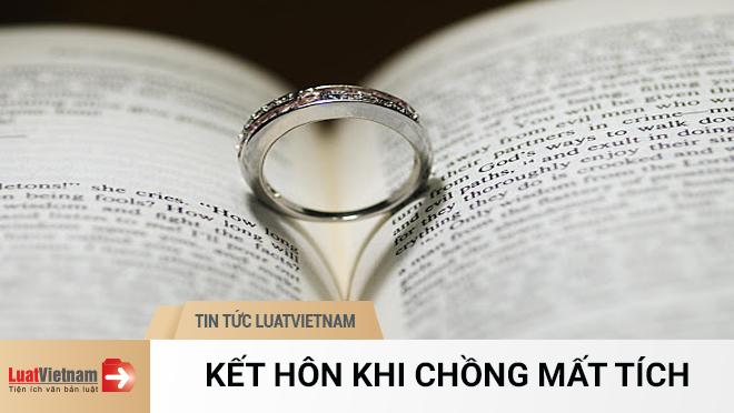 kết hôn khi chồng mất tích