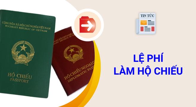 lệ phí làm hộ chiếu