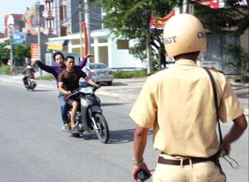 CSGT không được đuổi theo người vi phạm giao thông?
