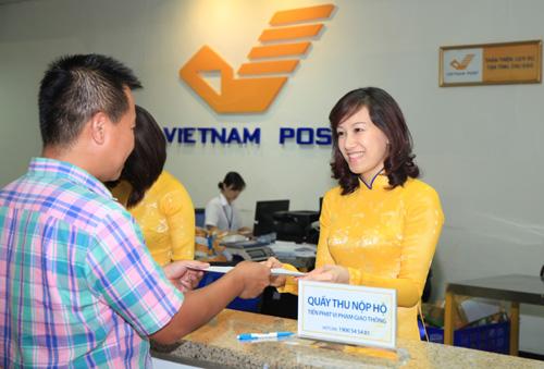 Thủ tục nộp phạt giao thông qua bưu điện