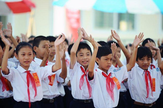 Học sinh tiểu học tư thục được hỗ trợ học phí