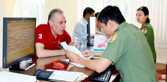 không cấp chứng nhận tạm trú cho người nước ngoài