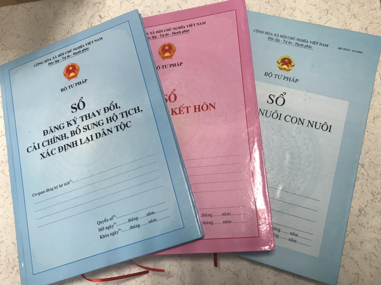 Sổ hộ tịch được lưu trữ vĩnh viễn để sử dụng