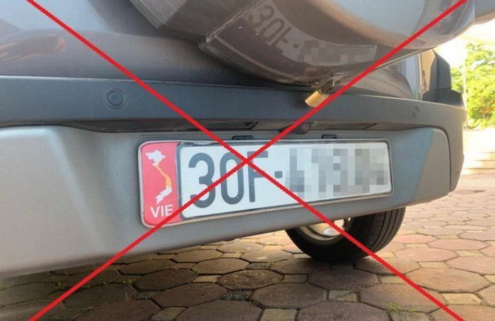 Mức phạt với ô tô dán bản đồ Việt Nam không có Hoàng Sa, Trường Sa