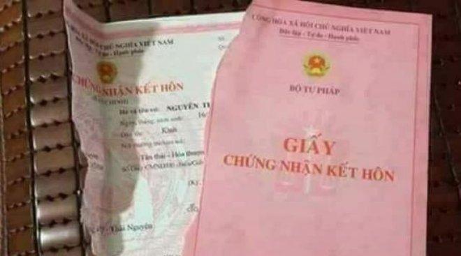 Mức phạt hành vi xé đăng ký kết hôn mới từ 01/9/2020