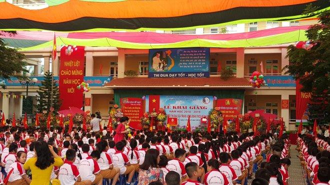 nhiều trường tổ chức Lễ khai giảng online