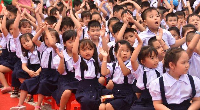 Không để học sinh tiểu học ngồi nhầm lớp