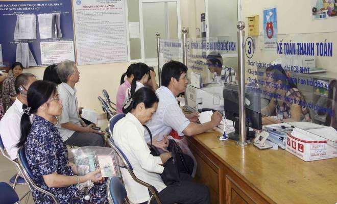 truong hop khong phai tham gia bhxh