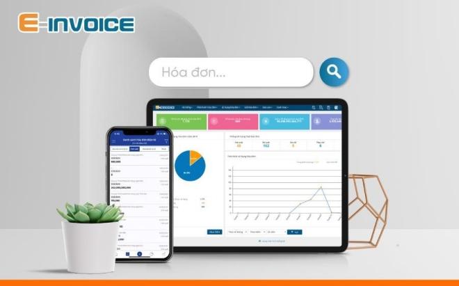 tra cứu hóa đơn với app E-invoice