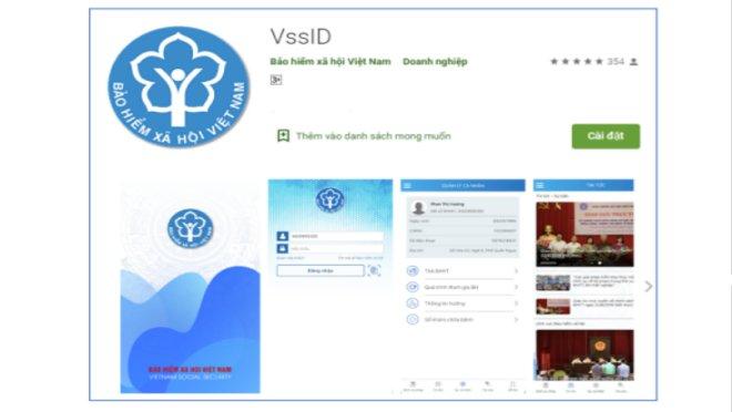 Cách sử dụng ứng dụng Bảo hiểm xã hội số VssID