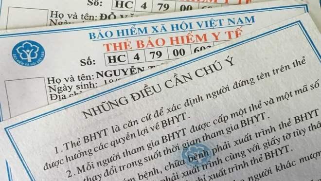 thu tuc doi the bao hiem y te