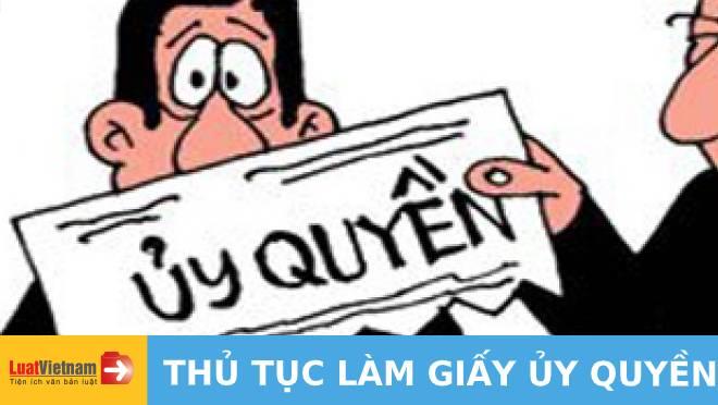 THU TUC LAM GIAY UY QUYEN