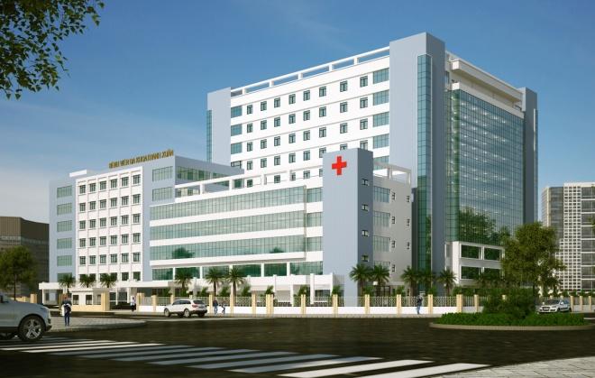 xác định các tuyến bệnh viện