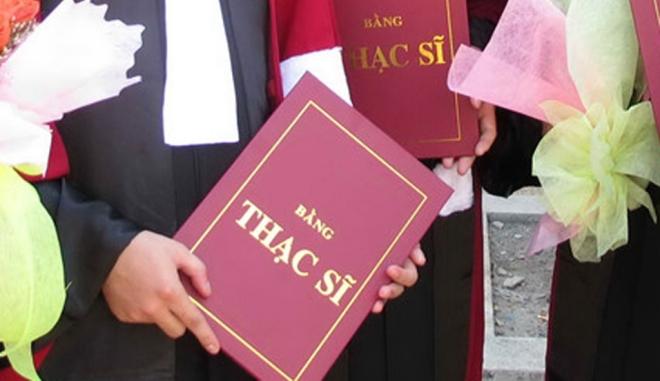 Chuẩn đầu vào bậc thạc sĩ phải có ngoại ngữ bậc 3