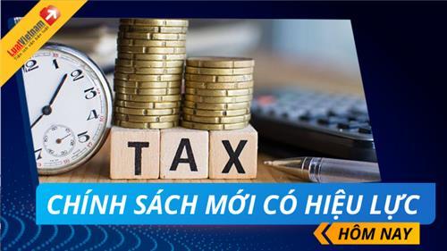 2 Nghị định quan trọng về thuế, hoá đơn có hiệu lực hôm nay