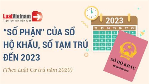 """Infographic: """"Số phận"""" của Sổ hộ khẩu, Sổ tạm trú đến 2023"""