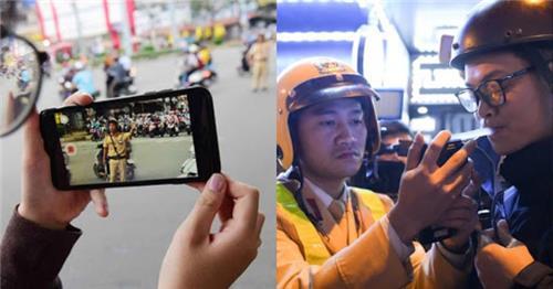 Có được quay phim, chụp hình CSGT đang làm nhiệm vụ?