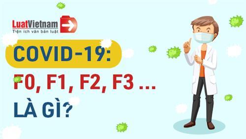 Infographic: F0, F1, F2, F3... liên quan đến Covid-19 là ai?