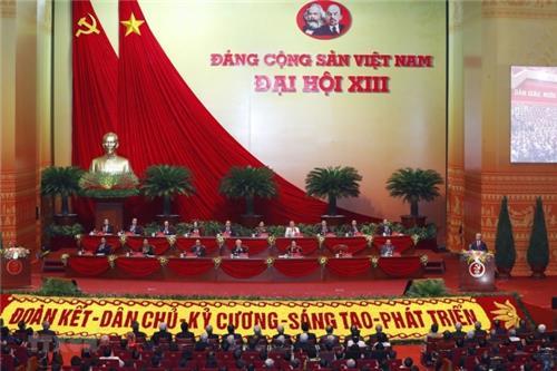Đã có Nghị quyết Đại hội đại biểu toàn quốc lần thứ XIII của Đảng