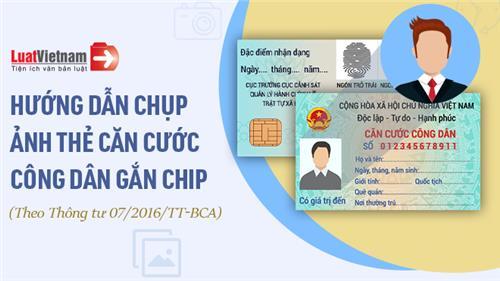 Infographic: Những lưu ý để có ảnh thẻ Căn cước gắn chip chuẩn, đẹp