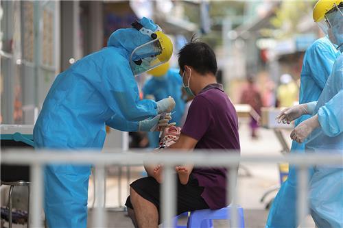 Hà Nội: Lấy mẫu xét nghiệm người từng đến Đà Nẵng chậm nhất ngày 17/5/2021