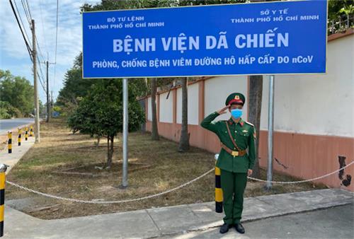 TP. Hồ Chí Minh thành lập Bệnh viện dã chiến Củ Chi