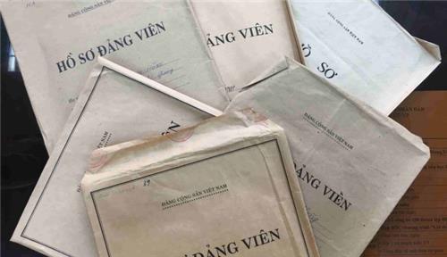 Mẫu Phiếu bổ sung hồ sơ Đảng viên và hướng dẫn cách khai