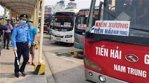 Hà Nội: Từ 6h ngày 21/9/2021, xe khách tiếp tục dừng hoạt động